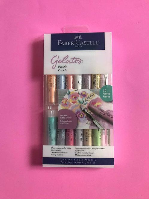 Faber Castell Gelatos Pastel 12 Set