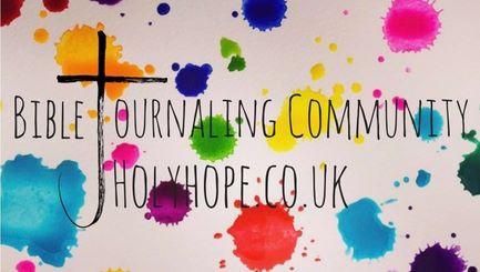 Bible Journaling Community UK. Holyhope.co.uk.