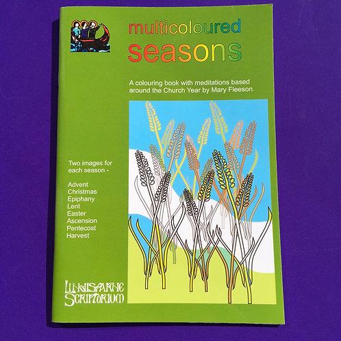 Colouring Seasons Book. Mary Fleeson