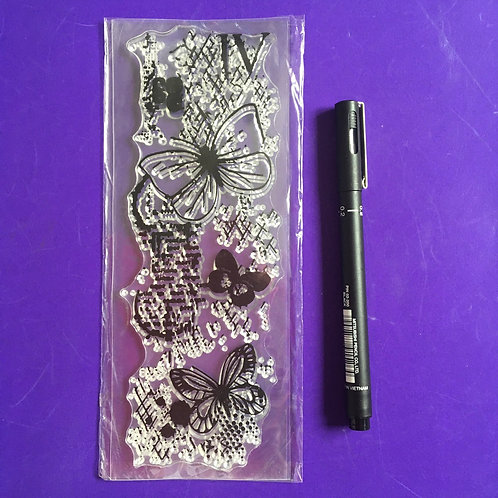 Margin Butterfly Stamp