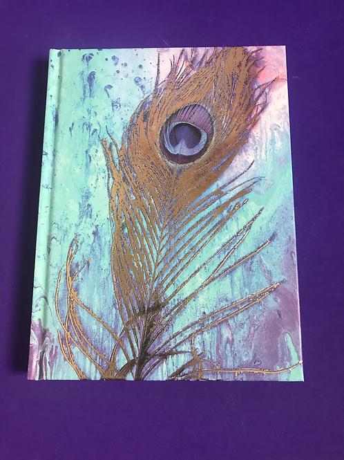 Hardback A5 Sketchbook. Blank Sketchbook