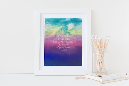 Christian framed print. Christian Print. Numbers 6. Blessings