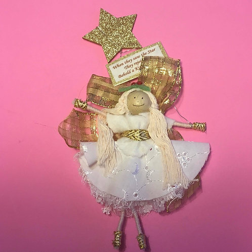 Christmas Gift. Angel Doll Decoration. Gift Doll. Behol