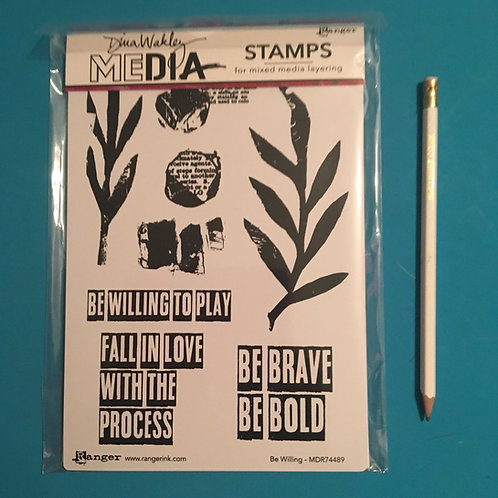 Diana Wakley Stamps Be Willing