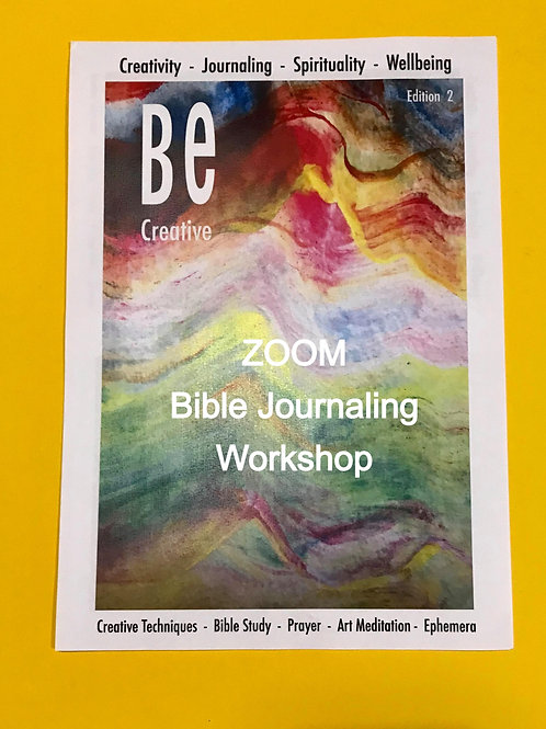 ZOOM Workshop for Beginners. Be Creative Edition 2