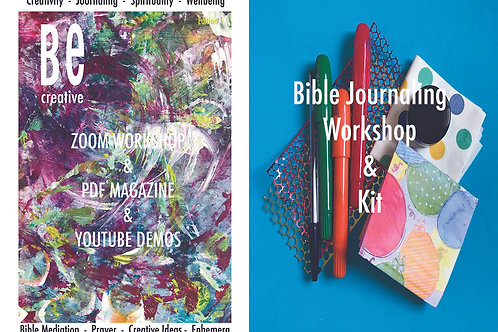 Bible Journaling Workshop with kit. Be Creative 1.