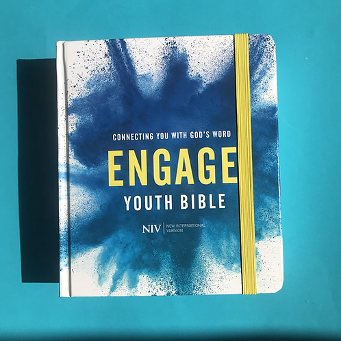 Engage. NIV Youth Bible. Journaling Bible for teenagers