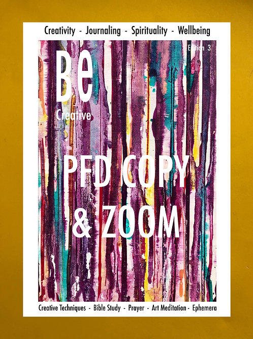 BE Creative Edition 3. Beginners Guide to Bible Art Journaling.