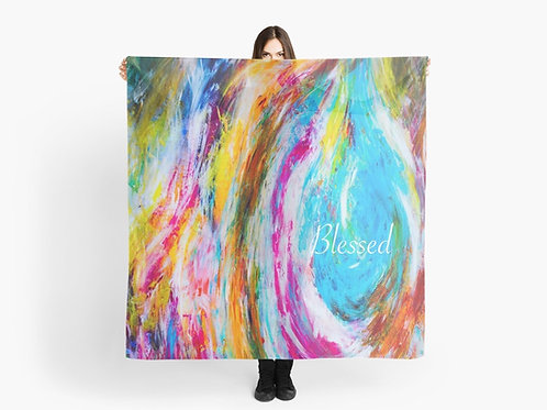 Blessed. Christian Scarf. Christian gift
