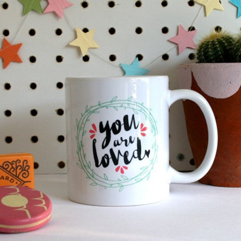 You are loved. Christian Mug