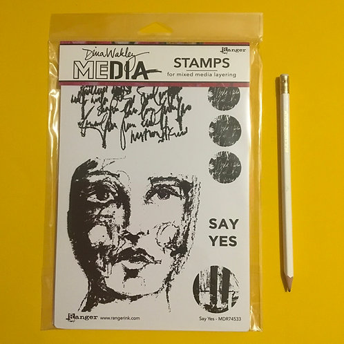 Diana Wakley Stamps Say Yes