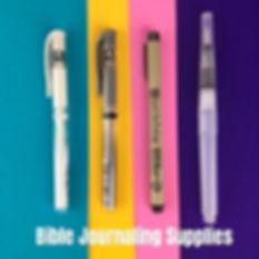 Bible Journaling Supplies, Resources, UK