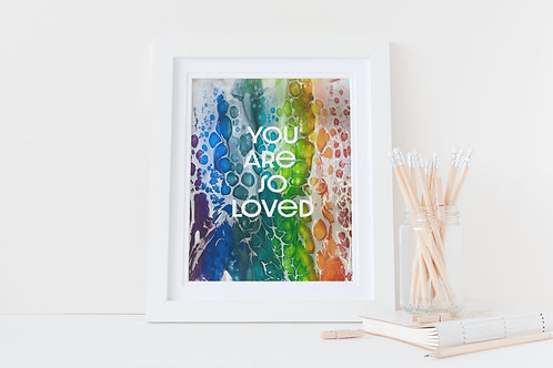 Children's Christian gift. Christian Gift. You are so loved.