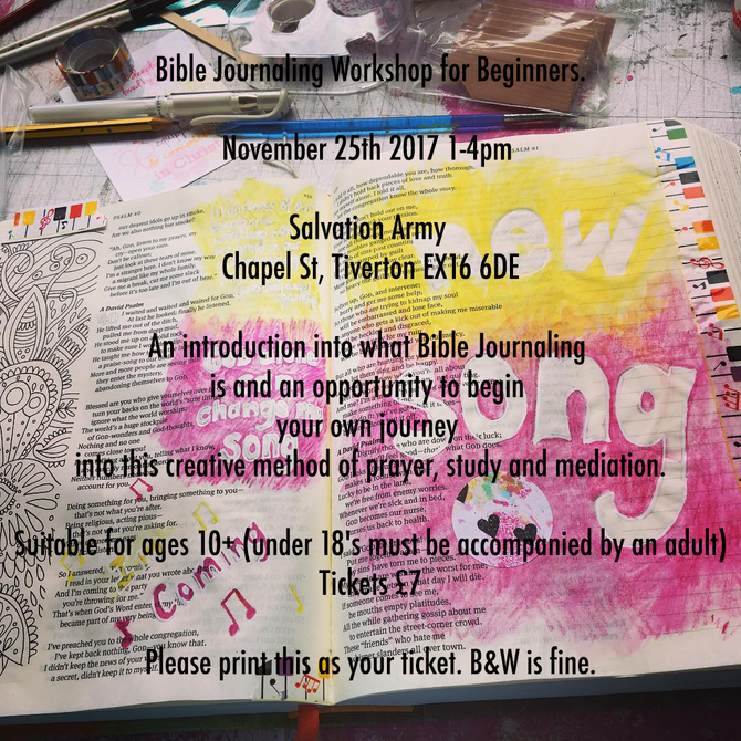 Introductory Bible Journaling Event