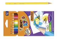 children's colouring pencils. bic kids