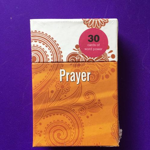Christian Prayer Gift. Word Power Cards. Gift Box