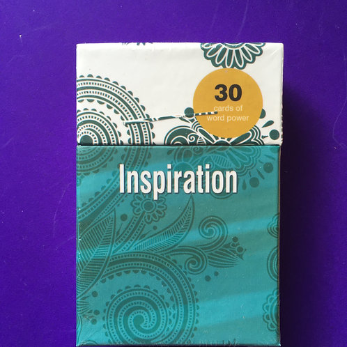 Christian Inspirational Gift. Word Power Cards. Gift Box of encouraging words.