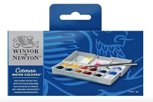Winsor and Newton Cotman Pocket Sketchers Watercolour set