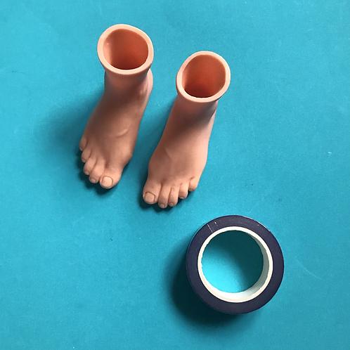 Set of finger feet