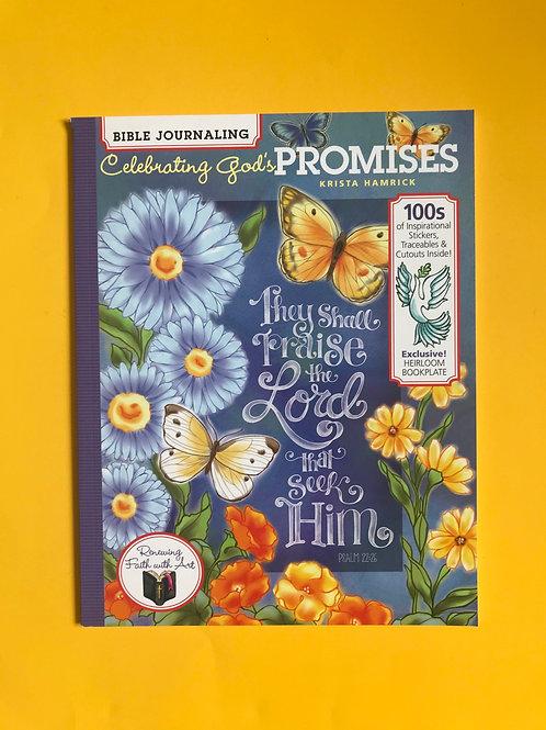 Celebrating God's Promises (Bible Journaling) Paperback  by Krista Hamrick
