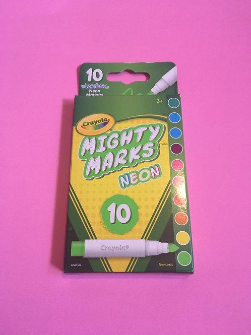 Crayola Mighty mark Neon Pen set