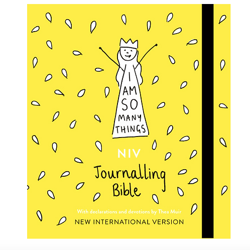 I AM SO MANY THINGS NIV JOURNALING BIBLE  Thea Muir Illustrations.