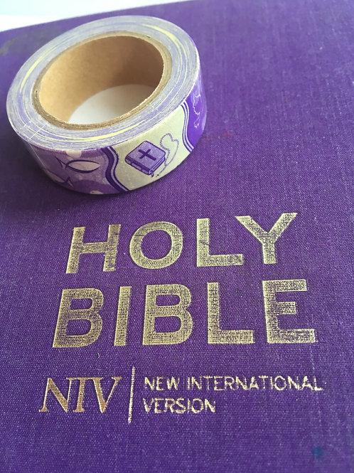 Christian Washi Tape  Christian Symbols