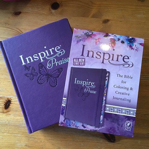 Inspire Praise New Living Translation Journaling Bible