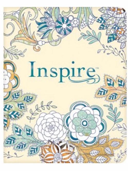 Inspire NLT Journaling Bible - Paperback