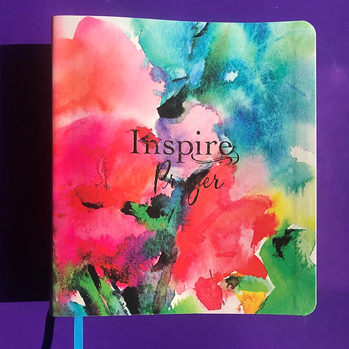 Inspire NLT PRAYER Journaling Bible. Lovely Christmas Gift.