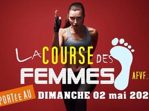 Info: Report de LA COURSE DES FEMMES
