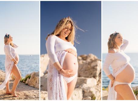 Maternity Session : Amandine