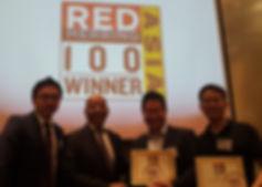 VisualCamp RED HERRING 100 WINNER
