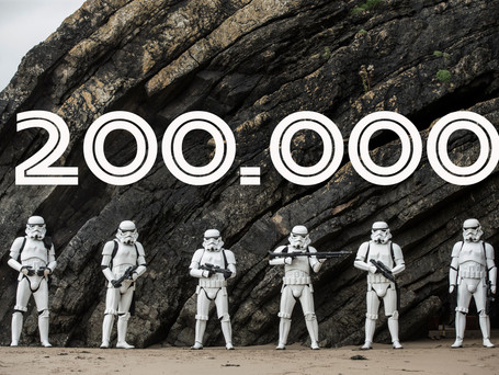 Stormtroopers hits 200,000