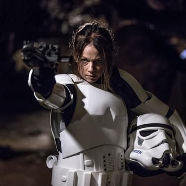 Carolyn Bracken as the Veteran Stormtrooper
