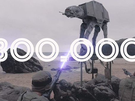 Stormtroopers hits 300,000