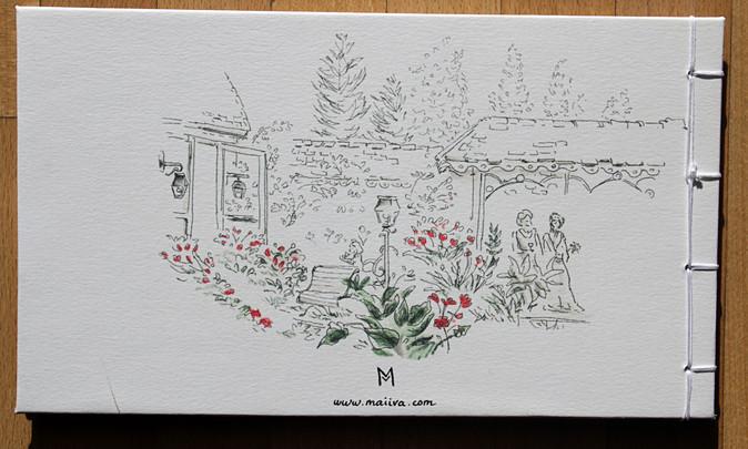 4ème de couverture carnet dessiné de mariage demarine et benoit.JPG