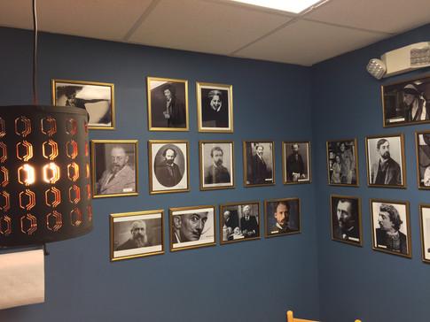 Famous Artist Portrait Gallery