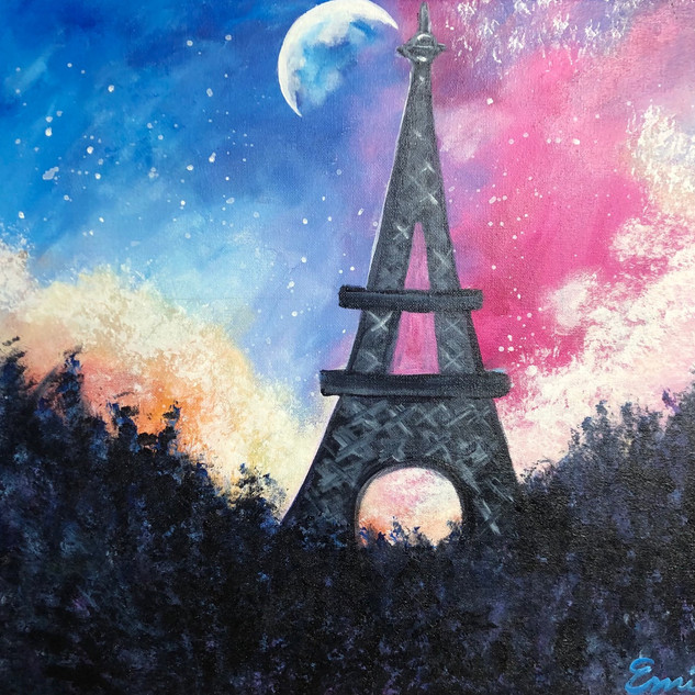 Dreamy Parisian Sky
