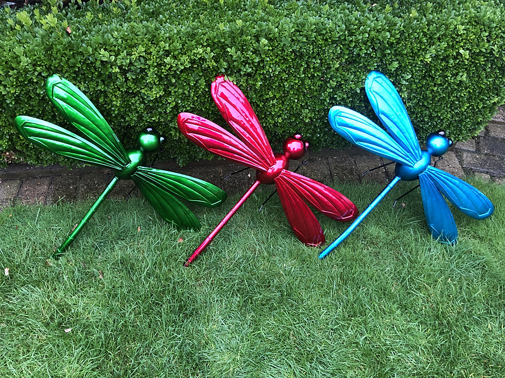 3D dragonfly wall art large
