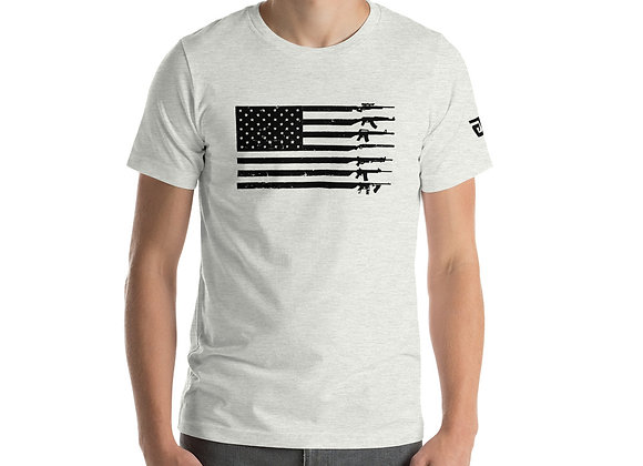 GnG Flag Guns Only (Black Logo-Colors)