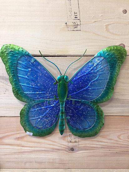 Glass wall butterflies
