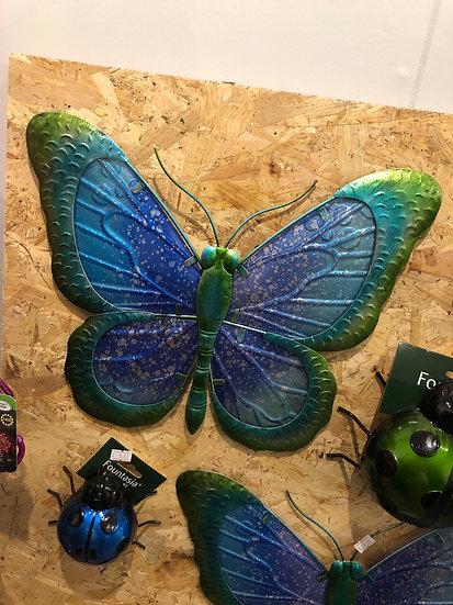 Glass wall butterfly