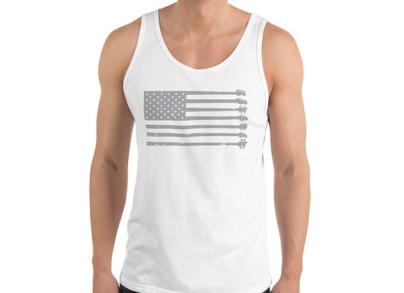 GnG Flag Guitars Only Tank (Grey)