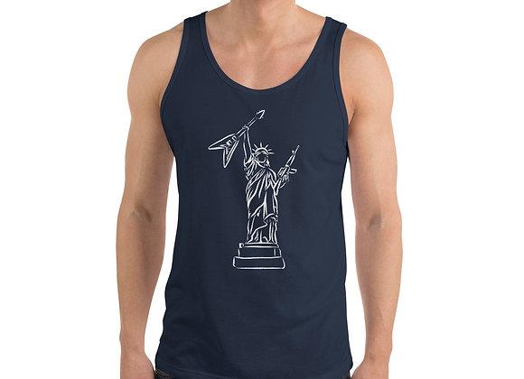 Lady Liberty Tank Top (light)
