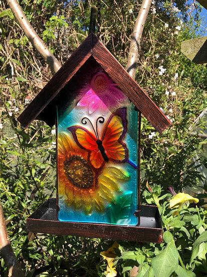 Hanging Glass Bird Feeders