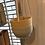 Thumbnail: Bamboo hanging planter grey 16cm