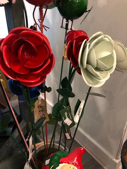 Garden rose stake