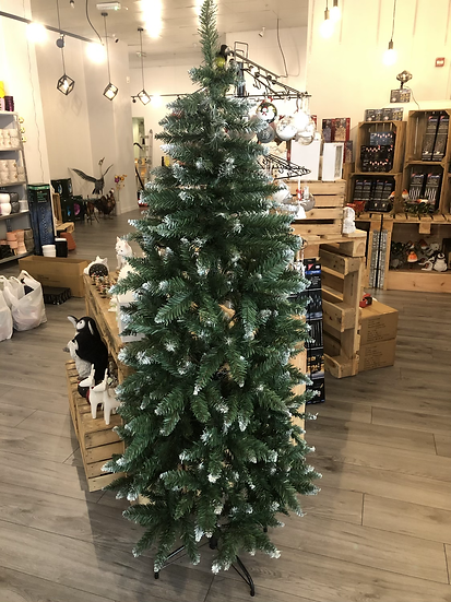 Slim Scandinavian fir 6ft tree
