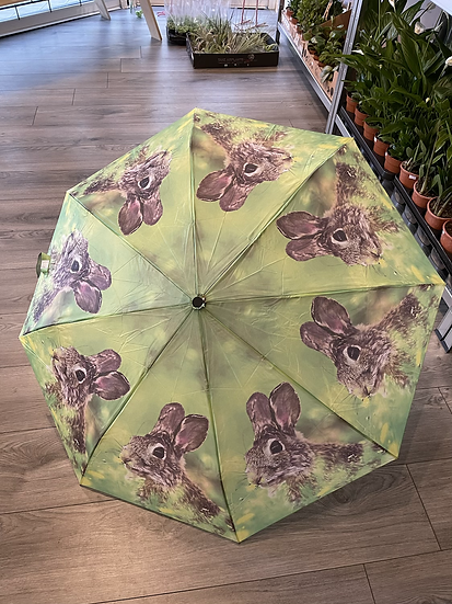 Rabbit folding umbrella